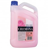 Мыло-крем жидкое 5 л КРЕМОНА 'Розовое масло', ПРЕМИУМ, перламутровое, из натуральных компонентов, 102219