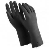 Перчатки латексные MANIPULA 'КЩС-1', двухслойные, размер 9 (L), черные, L-U-03