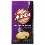 Кофе молотый ЖОКЕЙ 'Традиционный', натуральный, 250 г, вакуумная упаковка, 0305-26