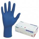 Перчатки нитриловые смотровые, КОМПЛЕКТ 100 пар (200 шт.), повышенная чувствительность, M, DERMAGRIP 'Ultra', D1102-27