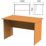 Стол письменный 'Фея', 1200х700х750 мм, цвет орех милан, СФ03.5