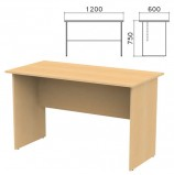 Стол письменный 'Канц', 1200х600х750 мм, цвет бук невский, СК22.10