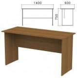 Стол письменный 'Канц', 1400х600х750 мм, цвет орех пирамидальный, СК21.9