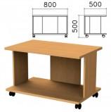 Стол журнальный 'Монолит', 800х500х500 мм, цвет бук бавария, ЖМ02.1