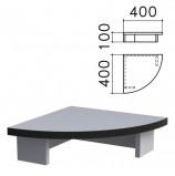 Подставка под монитор 'Монолит', 400х400х100 мм, цвет серый, ПМ03.11