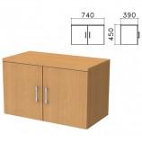 Шкаф-антресоль 'Монолит', 740х390х450 мм, цвет бук бавария, АМ01.1
