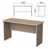 Стол письменный 'Бюджет', 1360х600х740 мм, орех онтарио, 402661-160