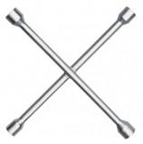 Ключ баллонный, крест, 17х19х21х22 мм, MATRIX PROFESSIONAL, усиленный, толщина 16 мм, 14244