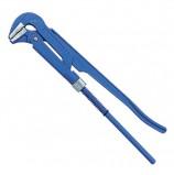 Ключ трубный рычажный №2, СИБРТЕХ, литой, регулируемый захват 20-50 мм, L=400 мм, 15759