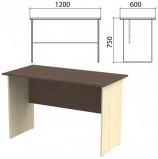 Стол письменный 'Канц', 1200х600х750 мм, цвет венге/дуб молочный (КОМПЛЕКТ)