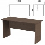 Стол письменный 'Канц', 1400х600х750 мм, цвет венге (КОМПЛЕКТ)