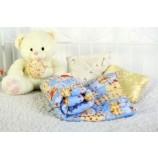Одеяло детское шерстяное 110х140см