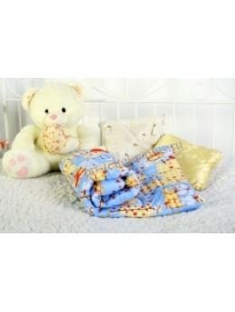 Одеяло холлофайбер детское 110х140