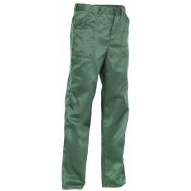Костюм Труженик (брюки), зеленый/желтый