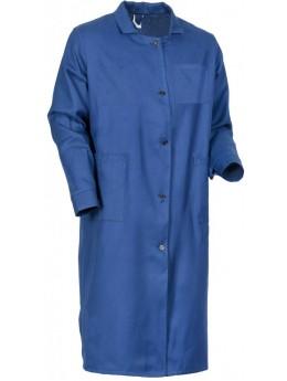 Халат рабочий женский (диагональ), т.синий