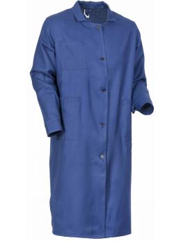 Халат рабочий мужской (диагональ), т.синий