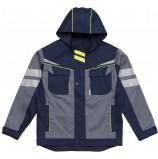 Куртка укороченная мужская PROFLINE SPECIALIST, серый/т.синий