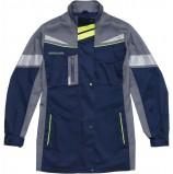 Куртка удлиненная женская PROFLINE SPECIALIST, т.синий/серый