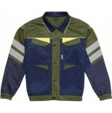 Куртка укороченная мужская PROFLINE BASE, т.синий/оливковый
