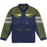 Куртка удлиненная мужская PROFLINE BASE, т.синий/оливковый
