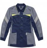 Куртка удлиненная женская PROFLINE BASE, т.синий/серый