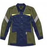 Куртка удлиненная женская PROFLINE BASE, т.синий/оливковый