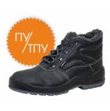 Ботинки ГРАНИТ кожаные ИМ ПУ/ТПУ