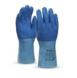 Перчатки Манипула Рефлекс (L-T-16, хлопок+латекс)