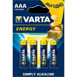 Батарейки VARTA ENERGY AAA бл. 4 (рус.)
