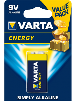 Батарейки VARTA ENERGY 9V бл. 1