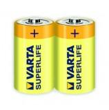 Батарейка VARTA SUPERLIFE C пленка 2