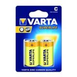 Батарейка VARTA SUPERLIFE C бл. 2