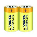 Батарейка VARTA SUPERLIFE D пленка 2