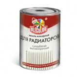 Эмаль алкидная для радиаторов белый (0.9 кг) OLECOLOR