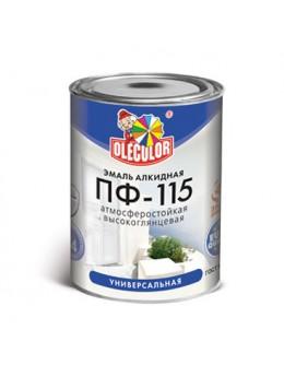 Эмаль ПФ-115 салатный OLECOLOR в ассортименте