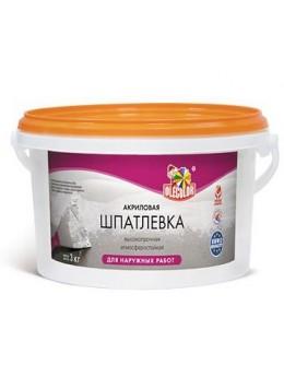 Шпатлевка акриловая для наружных работ  OLECOLOR (0,9 кг)
