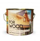 Защитно-красящий состав д/древесины быстросохн. Белый (0,9 л) FARBITEX ПРОФИ GOOD FOR WOOD(н)
