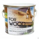 Состав защитно-красящий для древесины быстросохнущий Белый (10 л)  FARBITEX ПРОФИ GOOD FOR WOOD