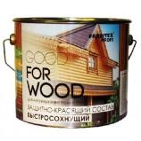 Состав защитно-красящий для древесины быстросохнущий  (0.9 л) FARBITEX ПРОФИ GOOD FOR WOOD тик
