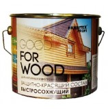 Состав защитно-красящий для древесины быстросохнущий  (0.9 л) FARBITEX ПРОФИ GOOD FOR WOOD в ассортименте