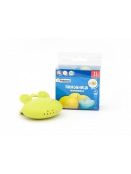ЛИМОННИЦА для выдавливания сока лимона, силикон, PATERRA, 8,5*7,5 см (402-460)
