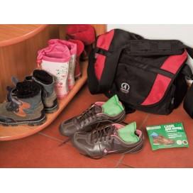 Саше для обуви С БАМБУКОМ, для сушки и хранения, 2 шт. в пакете с подвесом, PATERRA (402-425)