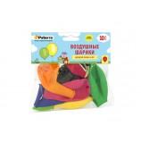 """Воздушные шарики, 30 см, разноцветные, (10 шт.), """"PATERRA"""""""