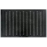 """Коврик резиновый 50x80 см """"Волна"""", чёрный, SUNSTEP™, 31-068(н)"""