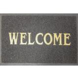 """Коврик """"Spongy"""" Welcome 40х60 см, серый, SUNSTEP™(38-431)"""