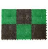 Коврик-травка 42х56 см, черно-зеленый, SUNSTEP™(71-002)