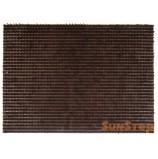 Коврик-щетинка 45х60 см, Темно-Коричневый, SUNSTEP™(75-198)