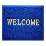 """← Назад Коврик """"Spongy"""" Welcome 40х60 см, синий, SUNSTEP™(38-436)"""