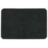 """Коврик придверный """"Soft"""" 40х60 см, черный, SUNSTEP™(35-013)"""