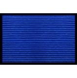 "Коврик влаговпитывающий  ""Ребристый"" 40x60 см, синий, SUNSTEP™(35-035)"